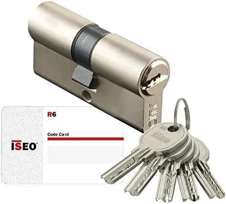 Iseo 880940409.5 Bombillo de seguridad, leva larga (níquel, 40 x 40 mm), 40X40