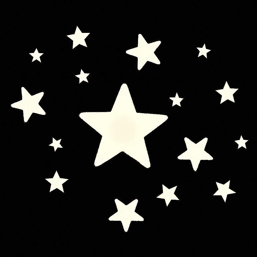 Funnylight Plafonnier LED pour enfant Motif nuage Argent/é avec /étoiles scintillantes dans le noir