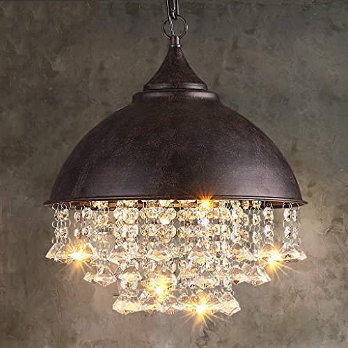 Large Copper Ball Pendant Light in US - 6