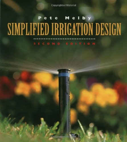 Simplified Irrigation Design, 2nd Edition (Landscape Architecture)