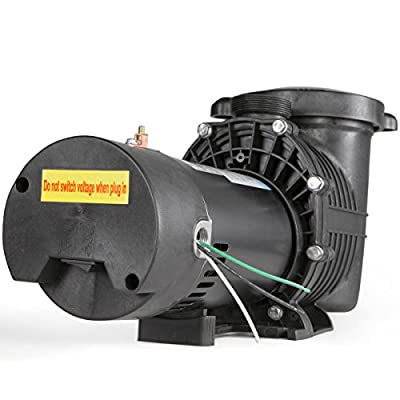 XtremepowerUS 1.5 HP Pool Pump Above/In-ground Swimming Spa Pool Pump 115/230V