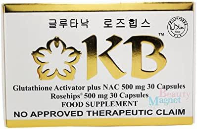 KB Kyusoku Bihaku Glutathione Skin Whitening Food Supplement