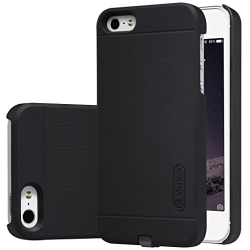 Nillkin Case (Nillkin Magic Case Series QI Standard Wireless Charging Receiver Back Cover for iPhone 5/5S/SE - Black)