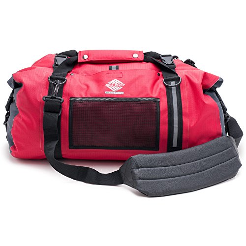 UPC 899248000862, Aqua Quest White Water Duffel - 100% Waterproof - 75 L - Red