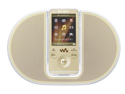 SONY ウォークマン Sシリーズ FM付 NC機能搭載 スピーカー付属 メモリータイプ  4GB ゴールド NW-S736FK/N B001U89Q7O ゴールド 4GB