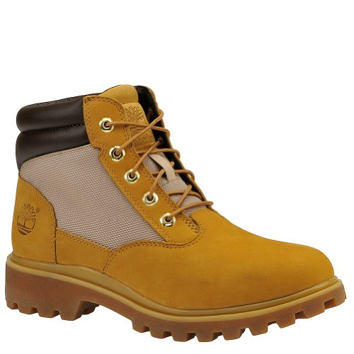 Timberland Mens Plain Teen Boot Tarwe Nubuck