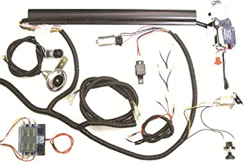 golf cart wiring diagram for brake light amazon com golf cart universal turn signal switch wire harness  golf cart universal turn signal switch