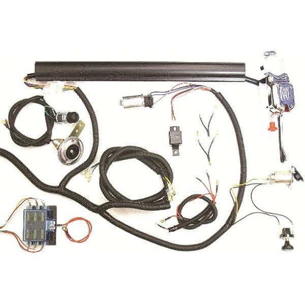 [EQHS_1162]  Amazon.com: GOLF CART UNIVERSAL TURN SIGNAL SWITCH WIRE HARNESS KIT CLUB  CAR YAMAHA EZ-GO OTHERS: Automotive | 12 Ez Turn Signal Wire Harness |  | Amazon.com
