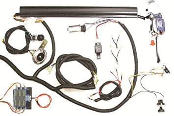 51av O byDL._SX355_ amazon com golf cart universal turn signal switch wire harness car wiring harness kits at n-0.co