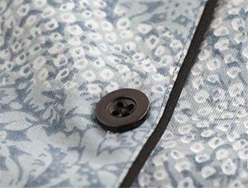 Hogar Chaqueta Para Suelto Photo Mujer Pijamas Color Mmllse Invierno Servicio Grúas De Traje Primavera Y Larga Otoño Manga Algodón Punto xvaOfq