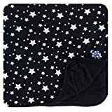 Kickee Pants Boys Custom Print Toddler Blanket Christmas Silver Stars For Sale