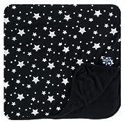 Print Toddler Blanket in Silver Stars