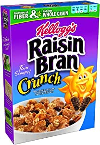 Raisin Bran Crunch Cereal, 25.5-Ounce Boxes (Pack of 14)