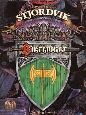 Stjordvik Domain Sourcebook from Birthright