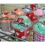 Fabric cupcakes Nano-sized clo