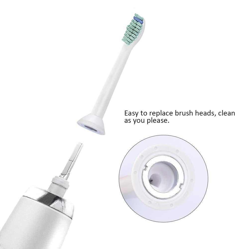 Ersatzbürsten für Philips Sonicare, Zahnbürstenköpfe Ersatzbürstenköpfe für Philips HX3 / 6/9 Elektrische Zahnbürstenköpfe (8pcs)