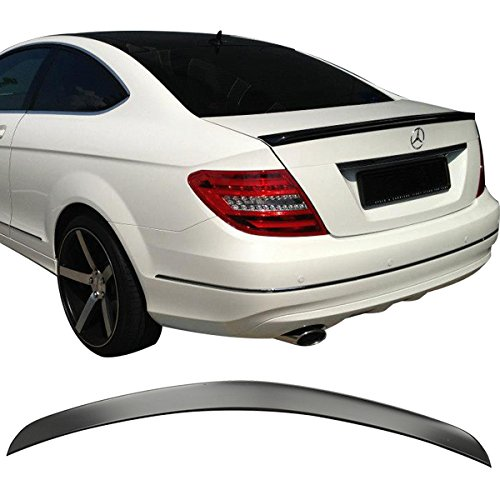 11-14 Mercedes Benz C Class C204 2Dr Coupe ABS UnPainted Trunk Lid Spoiler IKON MOTORSPORTS