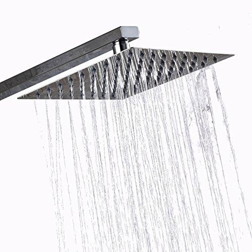 8 inch chrome shower head - 6