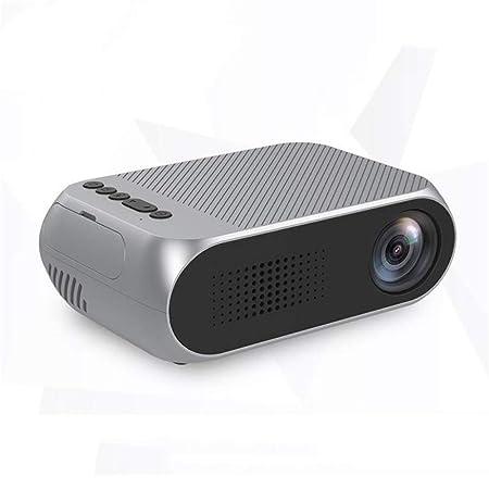 HOQTUM Proyector de casa HD 1080P Ordenador Conectado Telefono ...