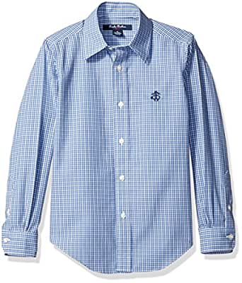 Brooks brothers little boys 39 non iron mini for Brooks brothers non iron shirt review