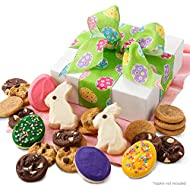 Mrs. Fields Cookies Easter Delight Cookie Gift Box (24 Count) Includes: 18 Nibblers Bite-Sized Cookies, 6 Hand-Frosted Easter Cookies - Perfect Easter Gift