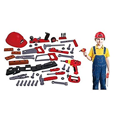 My First Craftsman 44-Piece Deluxe Tool Set: Toys & Games