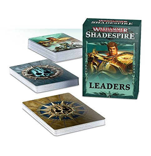 Warhammer Shadespire Leader Cards