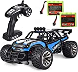 #5: SIMREX A130 RC Cars High Speed 20MPH Scale RTR Remote Control Brushed Monster Truck Off Road Car Big Foot RC 2WD Electric Power Buggy W/2.4G Challenger Blue