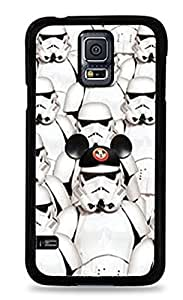Storm Trooper Disney Mickey Mouse Samsung Galaxy S5 Black Silicone Case -2020