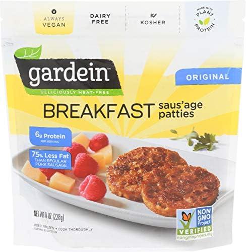 Gardein, Breakfast Saus'age Original, 8 Ounce