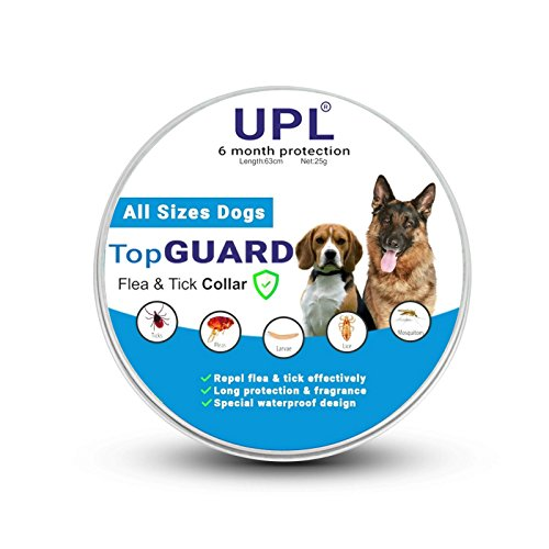 UPL Flea and Tick Prevention for Dogs, Flea and Tick collar for Dogs, One Size Fits All, 24.8 inch, 6 MONTH PROTECTION, Charity