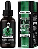 Beard Growth Oil – USA Made Natural Essence (60ml) – Mustache Softener Oil – Promotes Growth, Fuller & Thicker Beard – Leave-in Conditioner (Unscented) For Sale