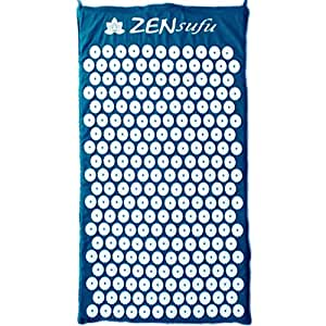Amazon Com Zensufu Acupressure Massage Mat For Back Pain