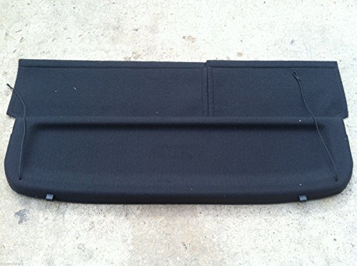 (Nissan NEW OEM 2007-2012 VERSA HATCHBACK REAR CARGO COVER - BLACK COLOR ONLY )