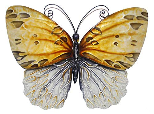 Eangee m712601 Wall Butterfly Honey Metal Art Piece