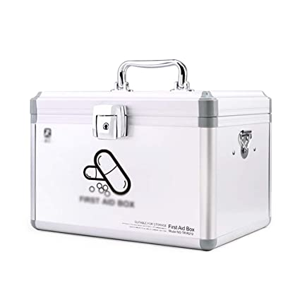 Amazon com: Baiyun flyin 2-Layer Household Medicine Box