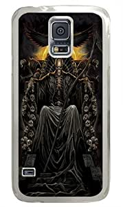 Death Throne Polycarbonate Hard Case Cover for Samsung S5/Samsung Galaxy S5 Transparent wangjiang maoyi
