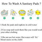 Reusable Waterproof Bamboo Charcoal Menstrual