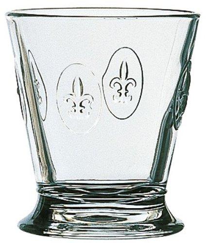 La Rochere Set Of 6, 9-ounce Fleur De Lys Tumblers For Sale