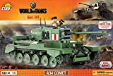world of tanks COBI 3014 A34 Comet Tank Model Kit