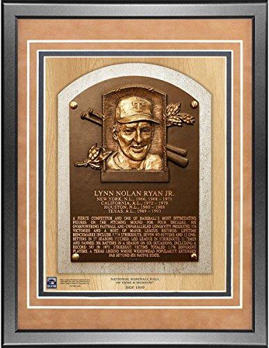 Nolan Ryan 11x14 Framed Baseball Hall of Fame Plaque