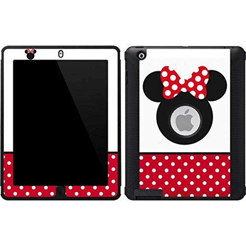 Skinit Minnie Mouse OtterBox Defender iPad 2/3/4th Gen Skin - Minnie Mouse Symbol Design - Ultra Thin, Lightweight Vinyl Decal Protection