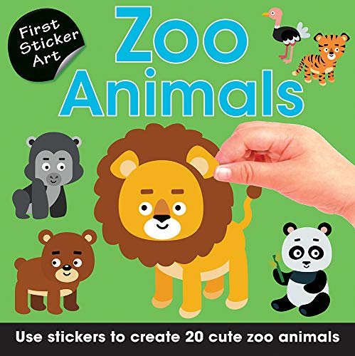 Zoo Animals: Use Stickers to Create 20 Cute Zoo Animals (First Sticker Art)