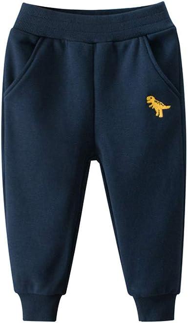 Dinosaur Pants Baby Boys Girls Kids Children Cute Long Pants Cotton Winter Pants