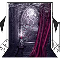 OUYIDA Halloween Pumpkin Theme 5X7FT Pictorial cloth Customized photography Backdrop Background studio prop TP116A