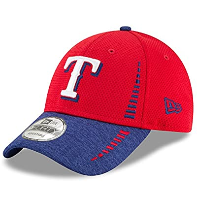 Texas Rangers New Era Speed Tech 9FORTY Adjustable Hat Red