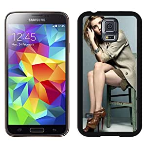 Emma Roberts Hard Plastic Samsung Galaxy S5 I9600 Protective Phone Case
