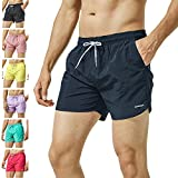 ade550b47abd2 3 · MaaMgic Mens Slim Fit Shorts Quick Dry Swim Trunks with Mesh Lining Male