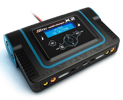 HiTec 44164 Ultima X2 Dual Port Charger