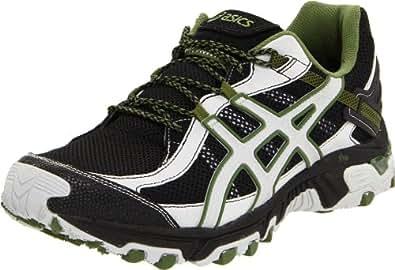 ASICS Men's GEL-Trabuco 14 Running Shoe,Black/Cement/Army,10.5 M US
